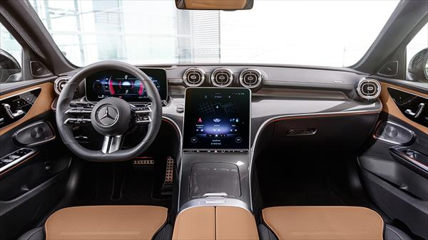 mercedes benz clase c interior